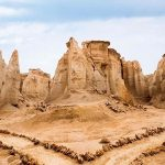 Qeshm - star valley - Iran in winter