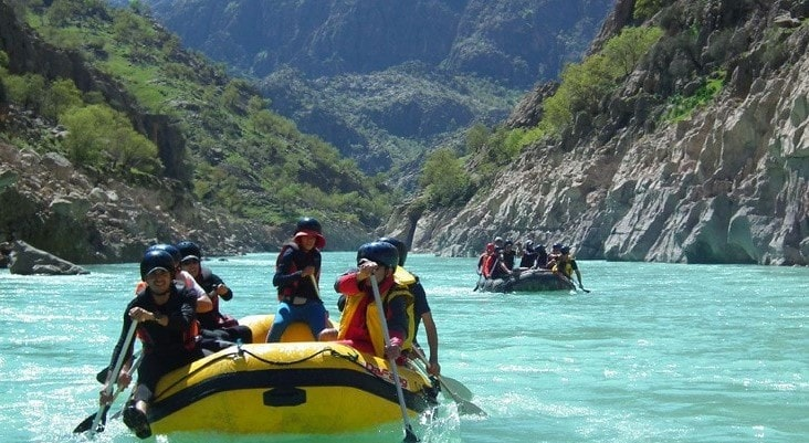 Rafting in Armand