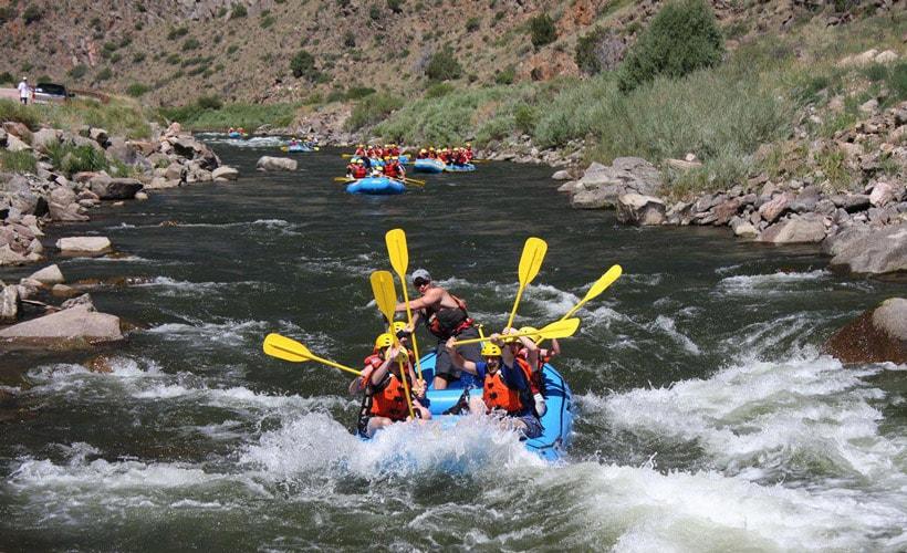 Rafting in Iran - Iran travel agency