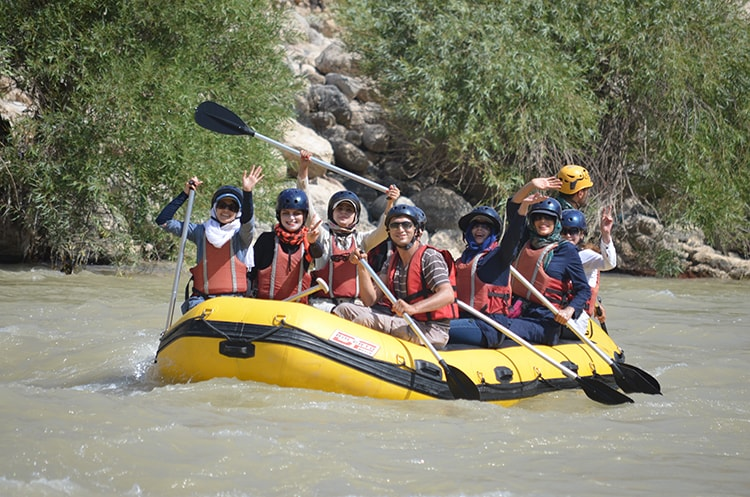 Rafting in Iran by Iran Destination