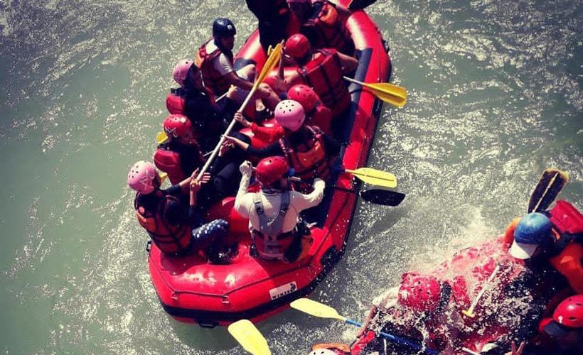 Rafting in Iran - Ceazar River