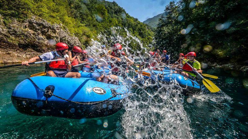 Rafting in Iran-
