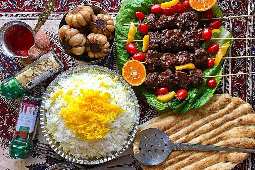 Sour Kebab - Food in Rasht