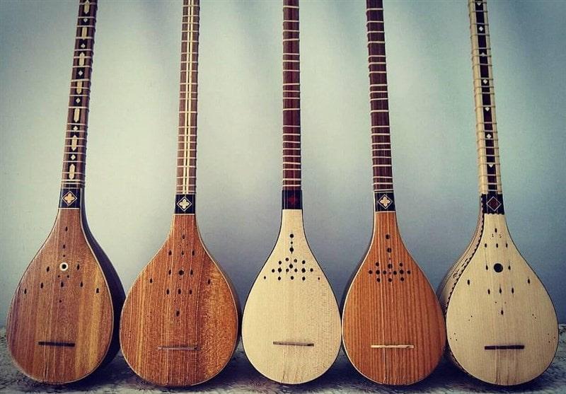 Setar - Persian traditional music instrument