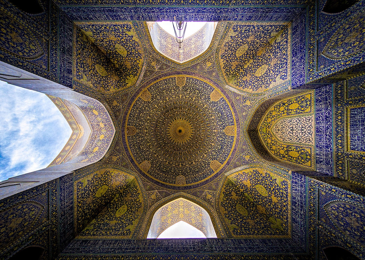 Shah mosque - beautiful mosques in Iran