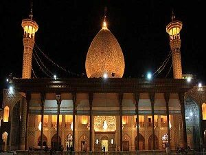 Visiting Shahe Cheragh in Iran cultural Tour