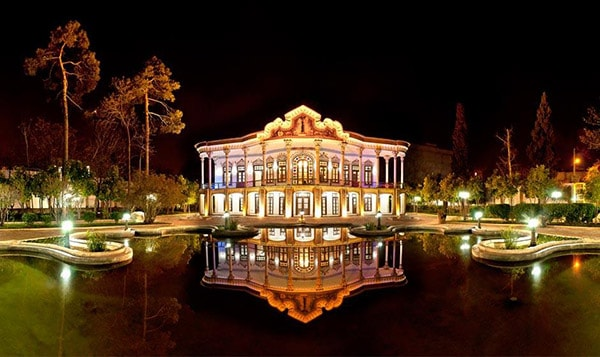 Shapouri Pavilion , Shiraz Highlight Attractions