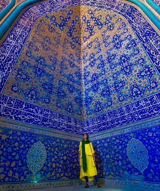 Masjed-e Sheikh Lotfollah - isfahan tour
