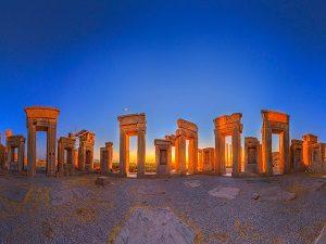 Visiting Persepolis during Iran Cultural tour