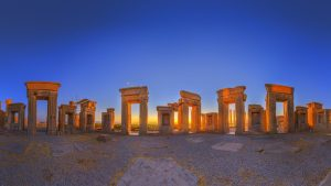 visiting Persepolis during Iran Historical Tours