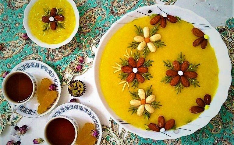 Shole Zard - Persian Dessert