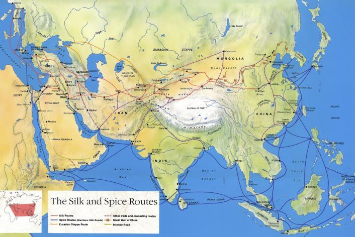 Silk Road , Source: UNESCO