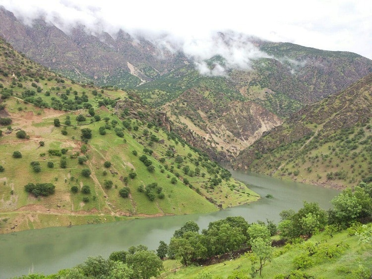 Sirvan River - Rafting in Iran