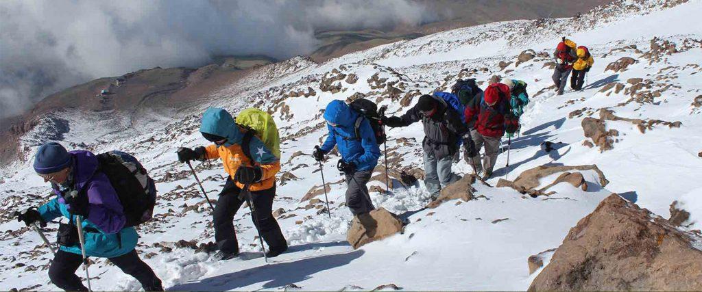 Ski Toring in Iran, Dizin