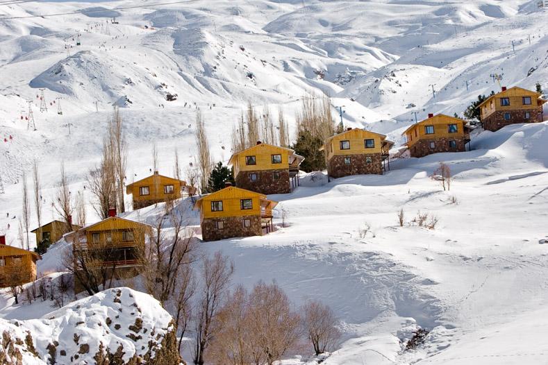 Ski Touring in Iran, Tochal