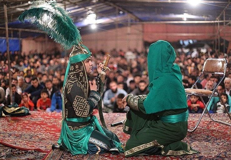 Ta'zieh -Ashura in Iran