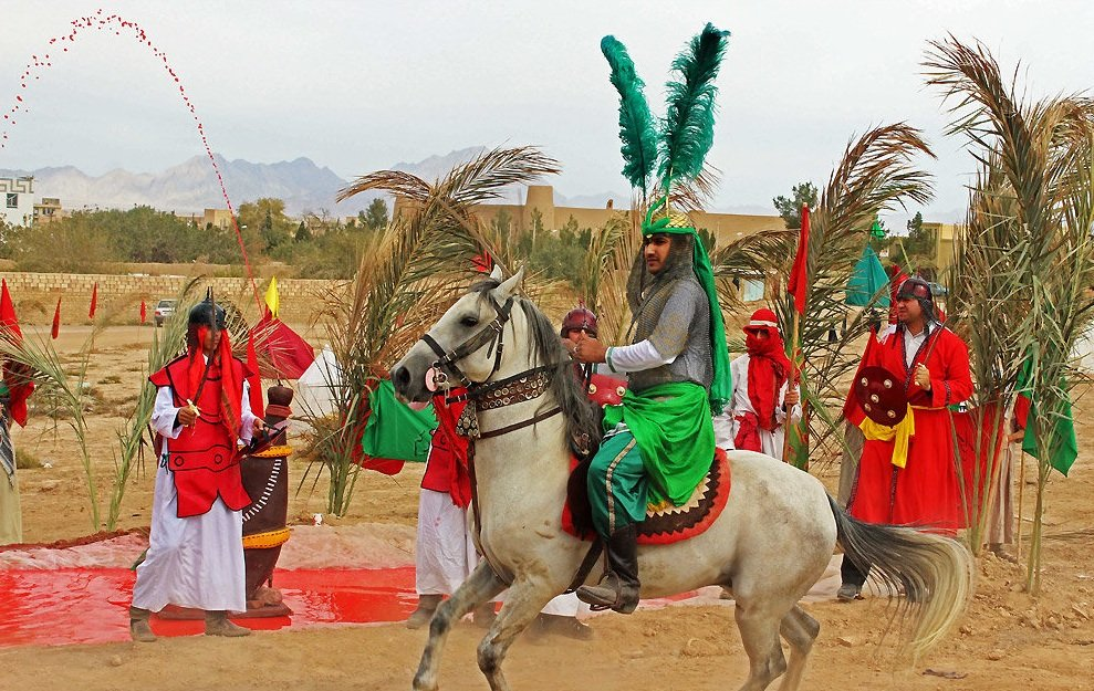 Ta'zie in Ashura- Iranian Festivals
