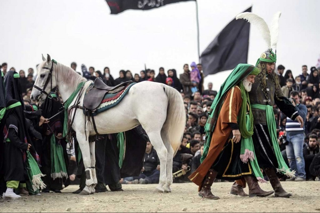 Ta'zieh during Ashura in Iran