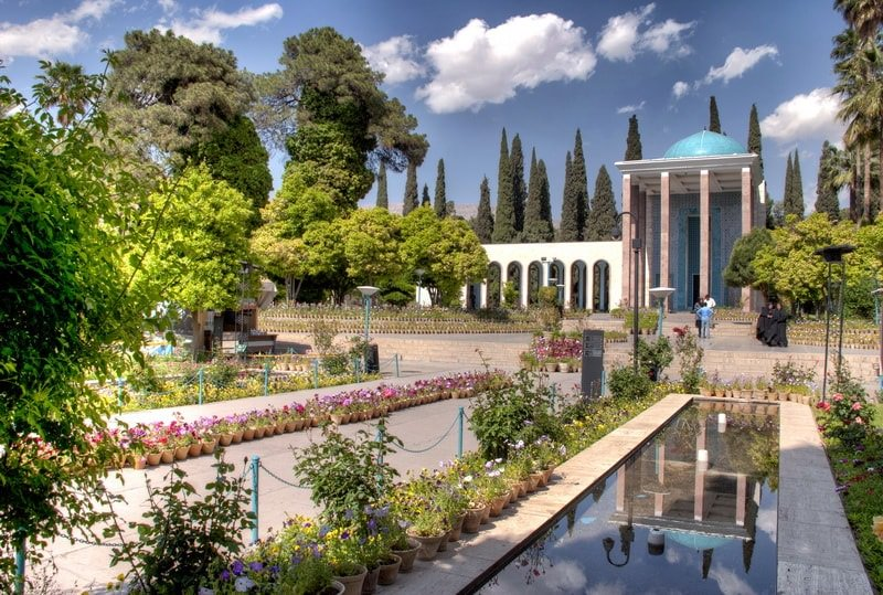 Saadi Tomb , Shiraz Highlight Attraction