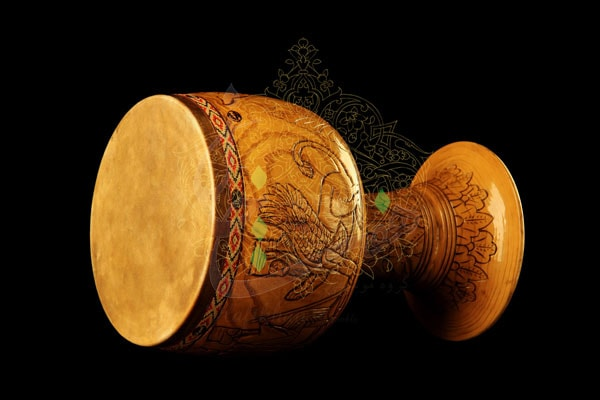 Tonbak - Persian traditional music instrument