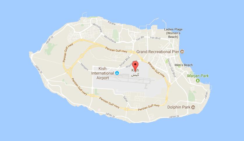 kish island tour