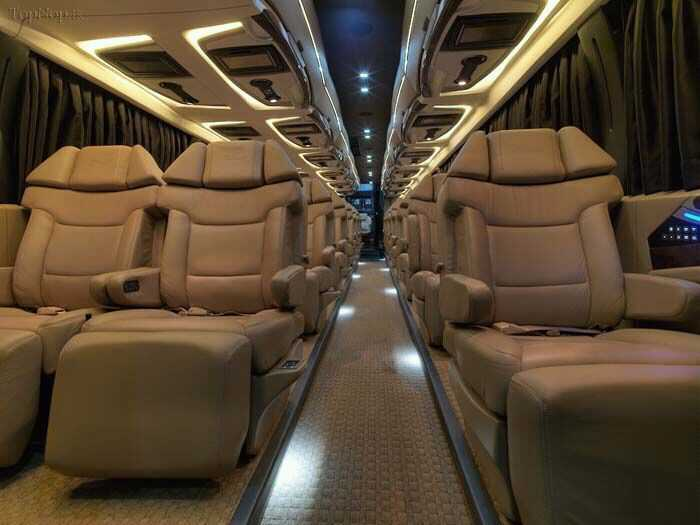 VIP bus prices in Iran