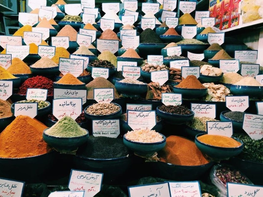 Vakil Bazaar- Price tags - Learn Essential Persian phrases