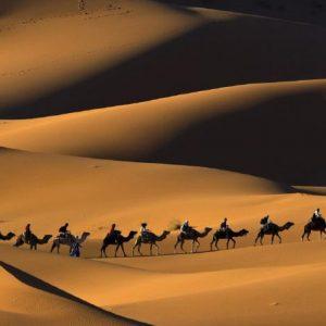 Varzaneh Desert in Isfahan
