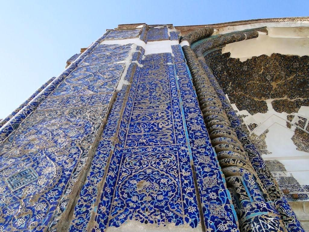 blue-mosque-tabriz-beautiful mosques in Iran