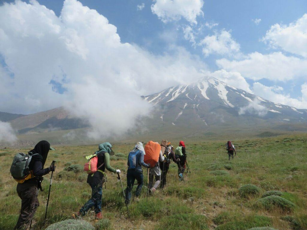 damavand mount climbing tours - Iran tour packages