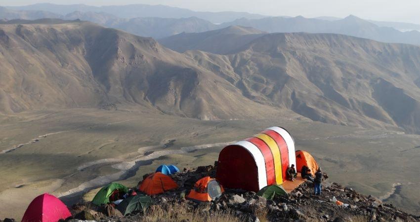 Damavand Mountain - Northern Route