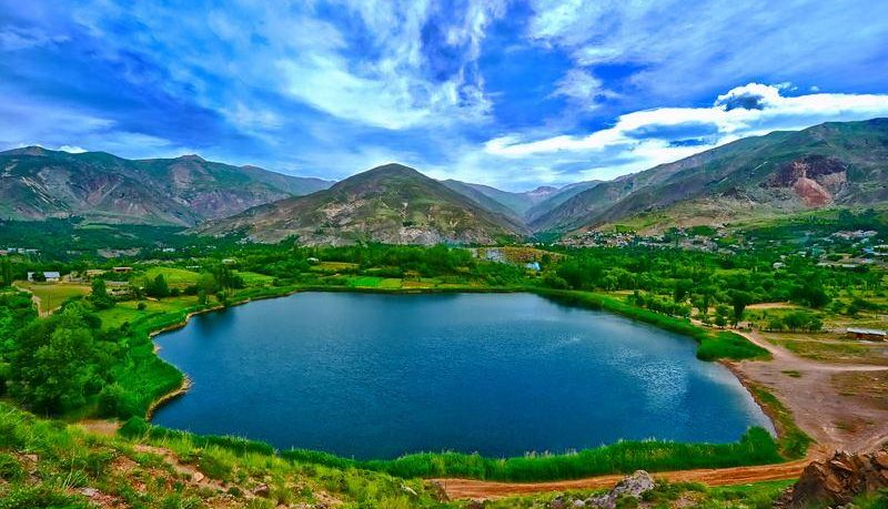Ovan Lake in Qzvin - Alamut - lakes of Iran