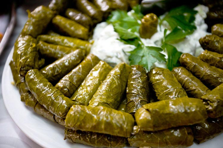 Grape Leaf Dolmasi , Traditional Food , Iran