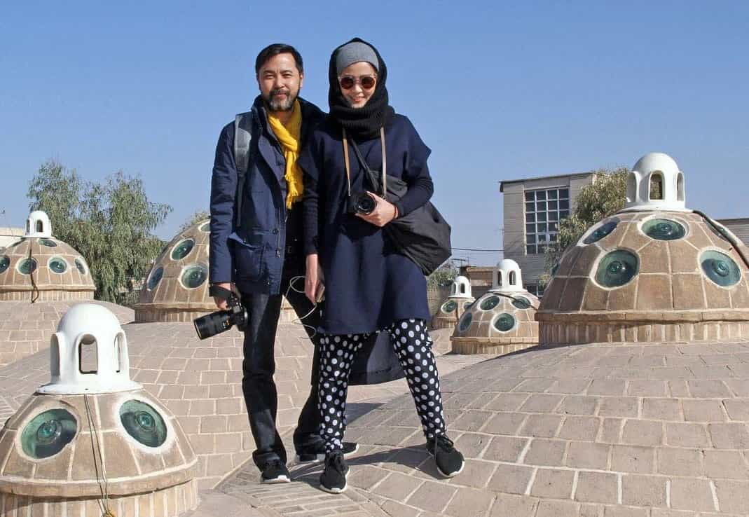 unmarried couple - Iran historical tour