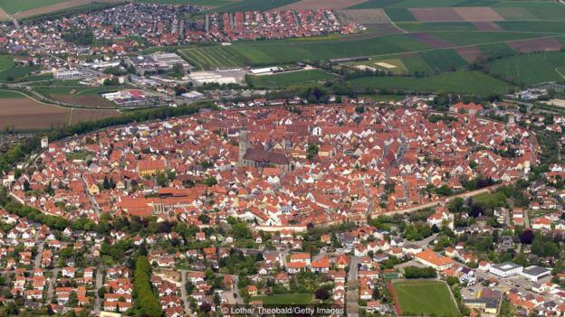 The German town encrusted with diamonds