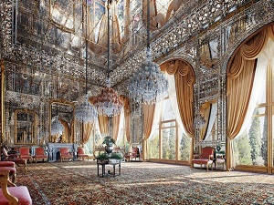 the Golestan Palace in Iran at a Glance