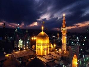 Imam Reza holy shrine in Mashhad- ziarat package