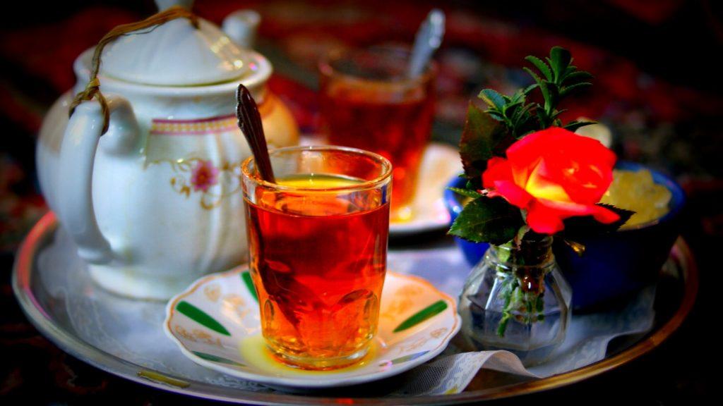 Iranian tea, Tea Party