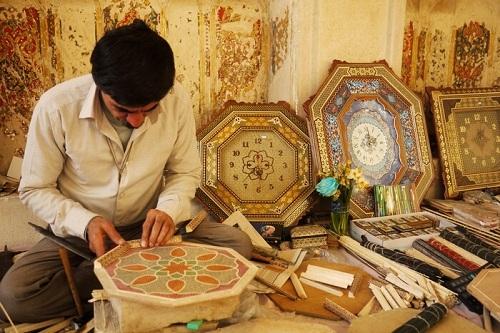Khatam Kari- Iranian souvenirs