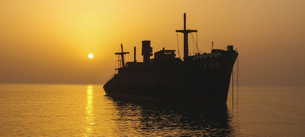 Greece Ship, Kish Island, Persian Gulf