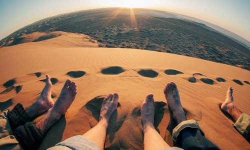 Lut Desert during Fall -Iran Desert Tour