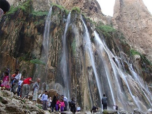 margoon water fall- nomad tour in Iran