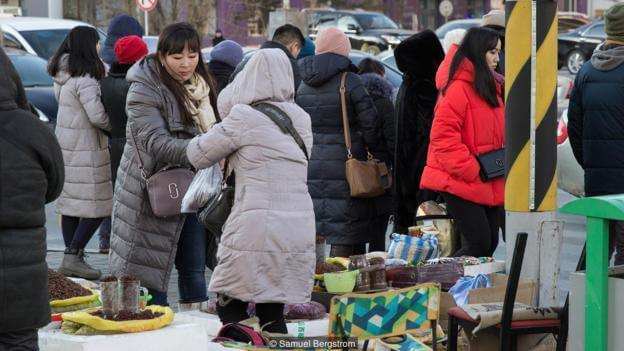 Mongolia's surprising snack food