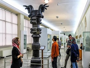 national museum of Iran - nomad tour in Iran