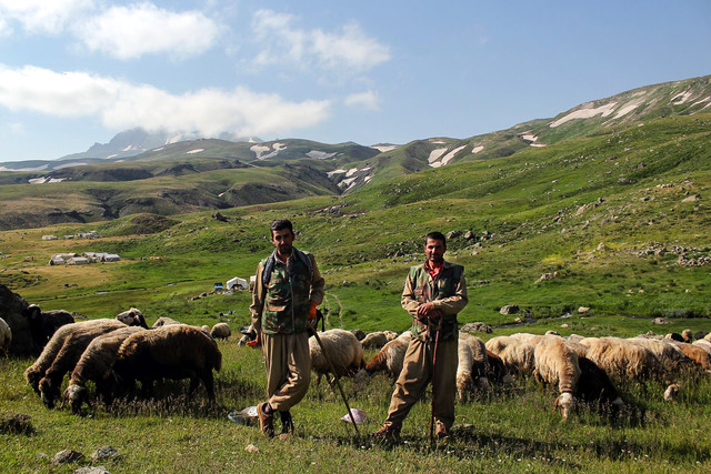 Nomad life in Iran, Zagros Mountains