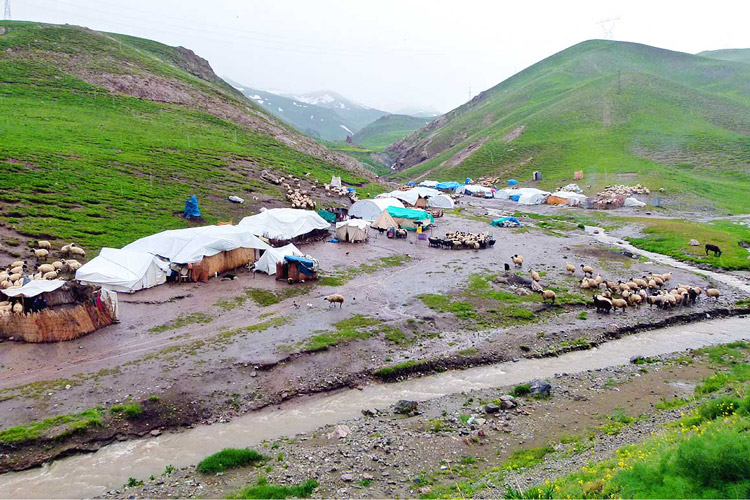 Nomad life in Iran
