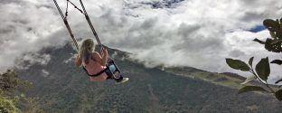 Where you can swing over the edge of the earth?