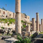 Jordans ancient town without a soul