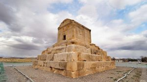 pasargadae during traditional sports of iran tour