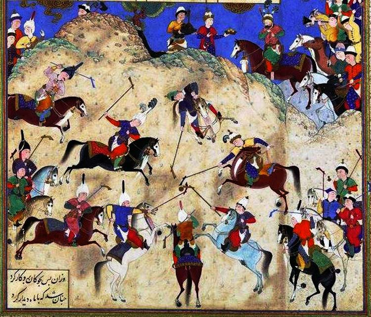 polo, as rich as history of Persia